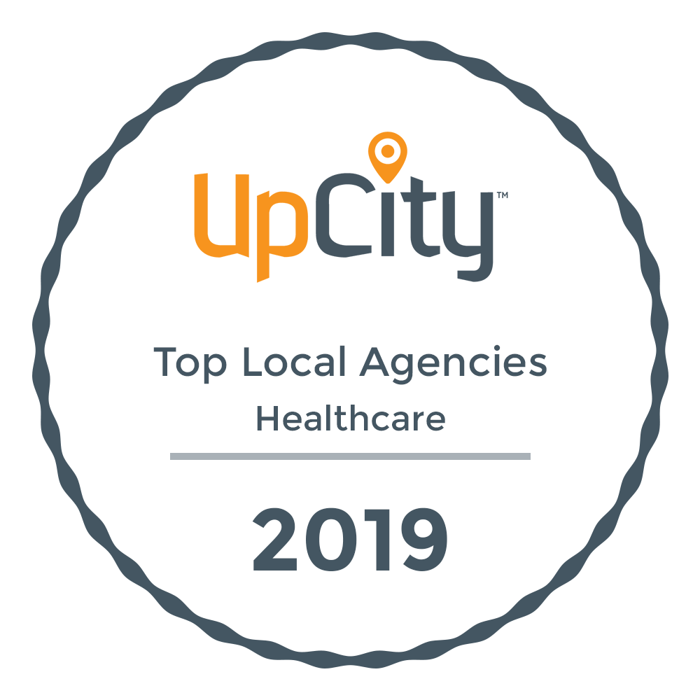 Up City Award - Top Local Agencies for Healthcare 2019